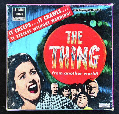 Photograph - The Thing 1951 8mm by David Lee Thompson