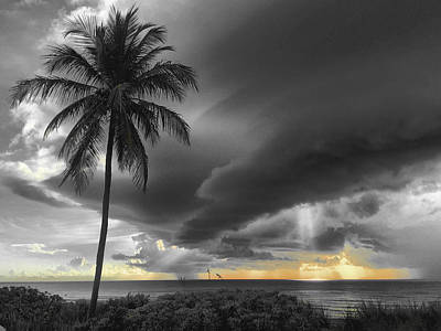 Photograph - The Things The Clouds Are Saying by Andrew Royston