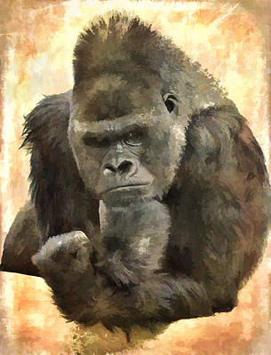 The Thinker Art Print by Diane Alexander