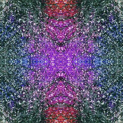 Joy Mixed Media - The Third Eye Activation #1497 by Rainbow Artist Orlando L aka Kevin Orlando Lau