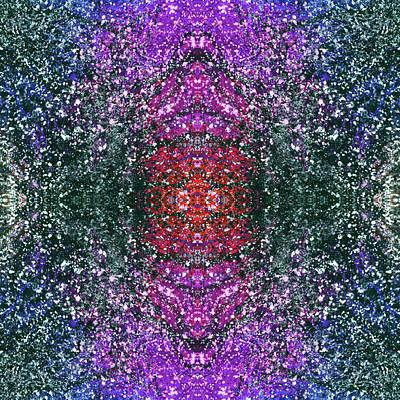 Joy Mixed Media - The Third Eye Activation #1499 by Rainbow Artist Orlando L aka Kevin Orlando Lau
