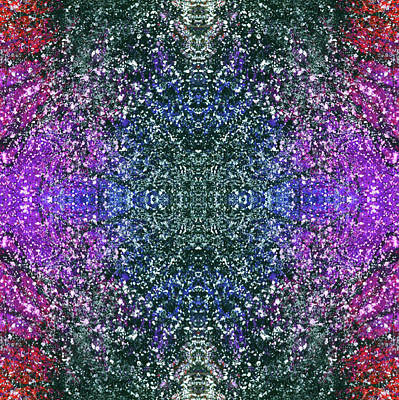 Joy Mixed Media - The Third Eye Activation #1500 by Rainbow Artist Orlando L aka Kevin Orlando Lau