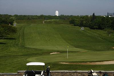 Photograph - The Third Hole At Montauk Downs by Christopher Kirby
