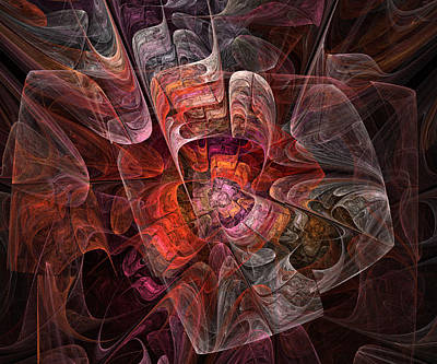 Spiritual Digital Art - The Third Voice - Fractal Art by NirvanaBlues