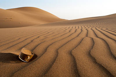 Thirsty Photograph - The Thirsty Desert. by Soheil Soheily