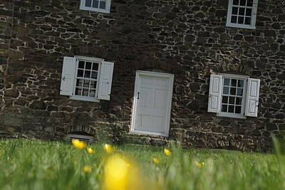 Photograph - The Thompson-neely House In Washington Crossing State Park by Emanuel Tanjala
