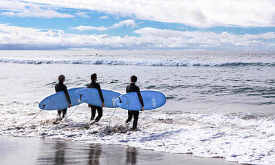 Photograph - Surf - The Three Amigos by Kip Krause