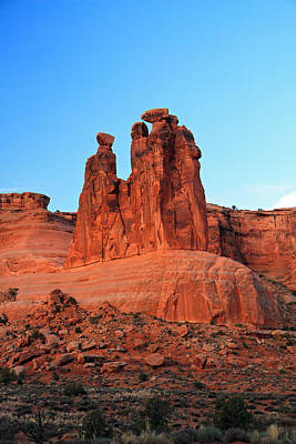 Photograph - The Three Gossips In Arches National Park by Pierre Leclerc Photography