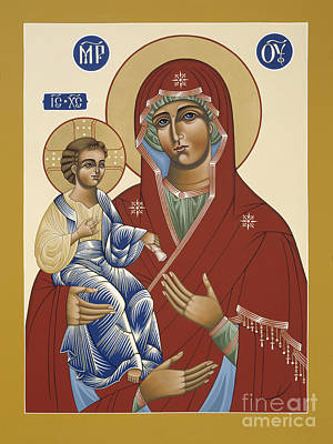 Painting - The Three Handed Mother Of God 102 by William Hart McNichols