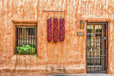 Ristra Photograph - The Three Ristras by Gestalt Imagery