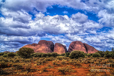 Photograph - The Three Rocks by Rick Bragan