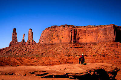 Photograph - The Three Sisters by Robert Bales