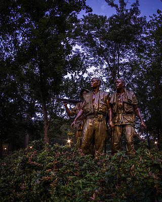 Photograph - The Three Soldiers by Chris Bordeleau