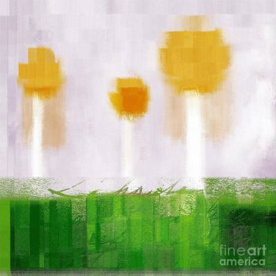 The Three Trees - 3305-t3t Art Print by Variance Collections