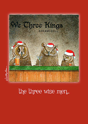 Painting - The Three Wise Men... by Will Bullas