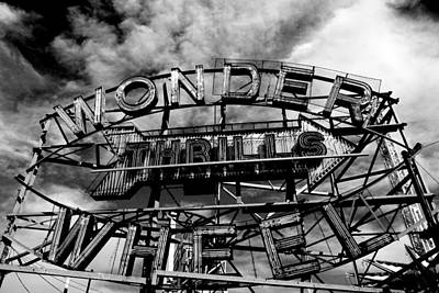 Photograph - The Magnificent Wonder Wheel by Fred Bonilla