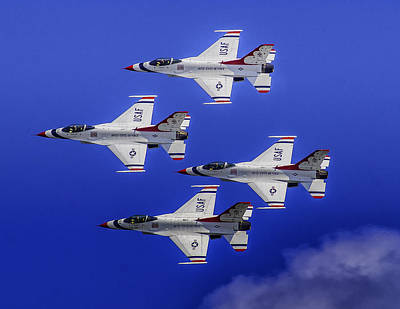 Photograph - The Thunderbirds by Nick Zelinsky
