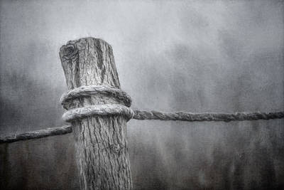 Charcoal Photograph - The Tie That Binds by Scott Norris
