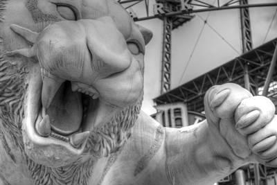 Detroit Tigers Art Photograph - The Tiger by Chris Coleman