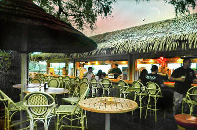 Photograph - The Tiki Bar by Diana Angstadt