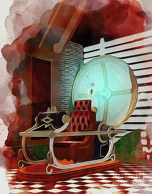 Science Fiction Royalty-Free and Rights-Managed Images - The Time Machine by John Springfield