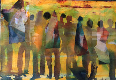 Gambia Mixed Media - The Times by Saihou Njie
