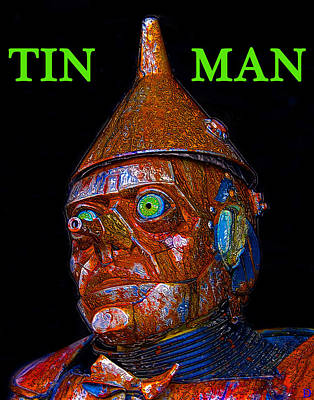 Painting - The Tin Man by David Lee Thompson