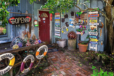 Photograph - The Tin Shed Apalachicola Florida Dsc00121_16 by Greg Kluempers