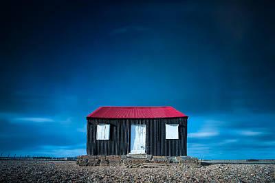 D700 Photograph - The Tin Shed On The Beach by John Fyn