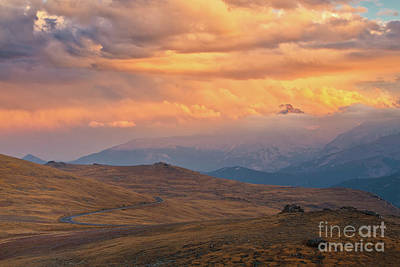 Photograph - The Tip Of Longs Peak by Ronda Kimbrow