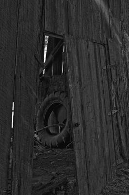 The Tire The Doorway And The Hanger Original by Jason Blalock