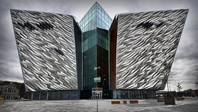 The Titanic Belfast Art Print by Chris Cardwell