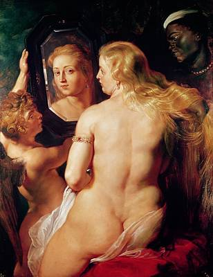 Rubens Painting - The Toilet Of Venus by Peter Paul Rubens