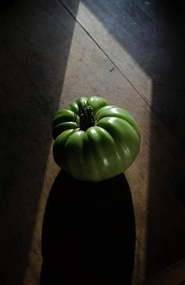 Photograph - The Tomato Drama by Rae Ann  M Garrett