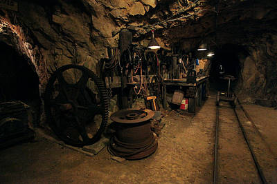 Hole In The Ground Photograph - The Tool Room by Mike Flynn