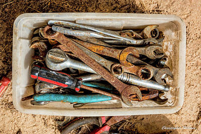 Art Print featuring the photograph The Toolbox by Christopher Holmes