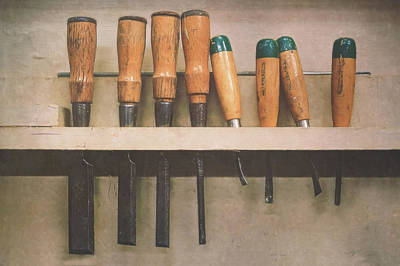 Craft Photograph - The Tools Of The Trade by Scott Norris
