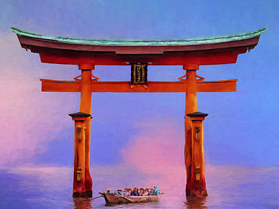 The Torii Gate Art Print