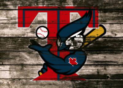 Toronto Blue Jays Mixed Media - The Toronto Blue Jays 1c by Brian Reaves