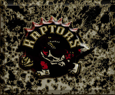 The Toronto Raptors 1a Art Print