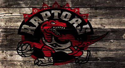 The Toronto Raptors 2b Art Print by Brian Reaves
