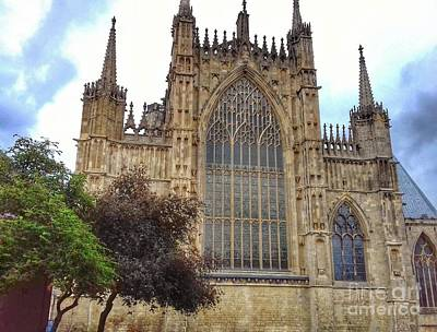 Photograph - The Torrents And Towers Of York Minster by Joan-Violet Stretch