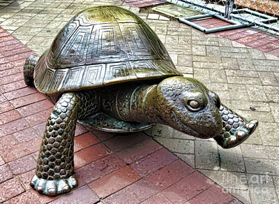 Painting - The Tortoise 2 by Lanjee Chee