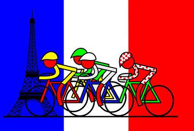 The Tour Arrives In Paris Original