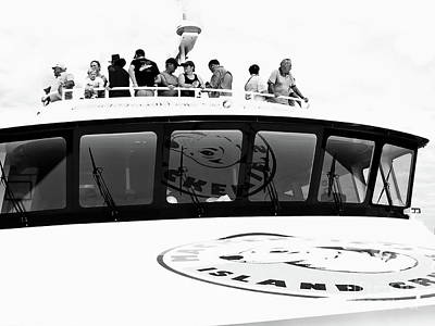 Photograph - The Tourists Bw by Tim Richards