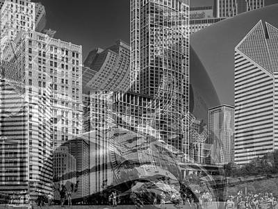 The Tourists - Chicago II Art Print