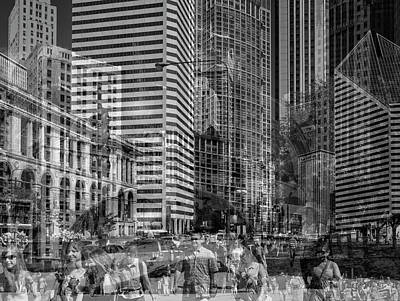 The Tourists - Chicago 03 Art Print