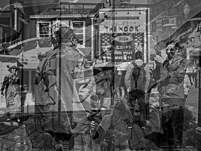 The Tourists - Pier 39 Art Print