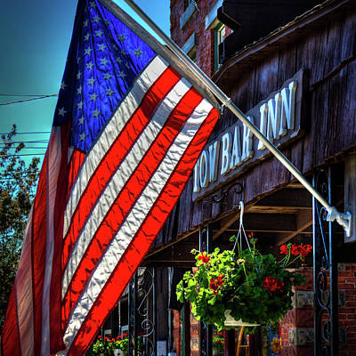 Photograph - The Tow Bar Inn - Old Forge Ny by David Patterson