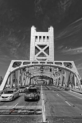 Photograph - The Tower Bridge by Jim Thompson